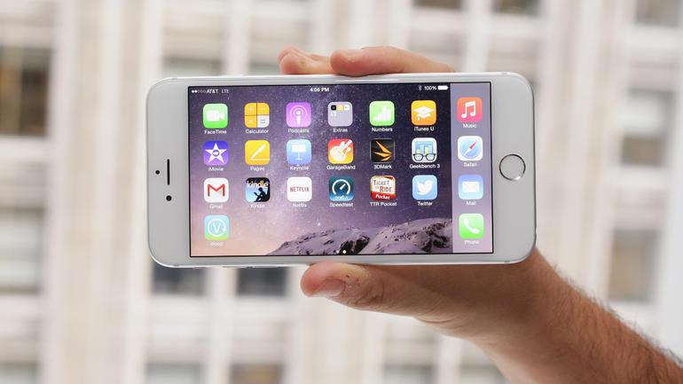iPhone 6 Plus schermo