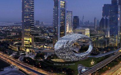 Dubai e il museo hitech del futuro da 136 milioni di dollari