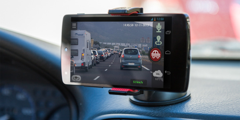 smartphone dashcam