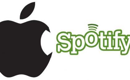 Apple vs Spotify con un servizio di musica on demand