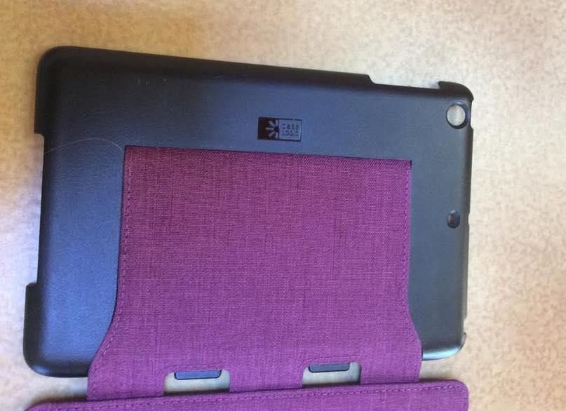 Caselogic SnapView per iPad Mini aggancio