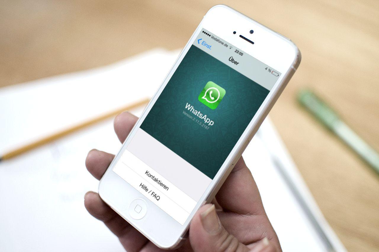 Chiamate WhatsApp su iPhone