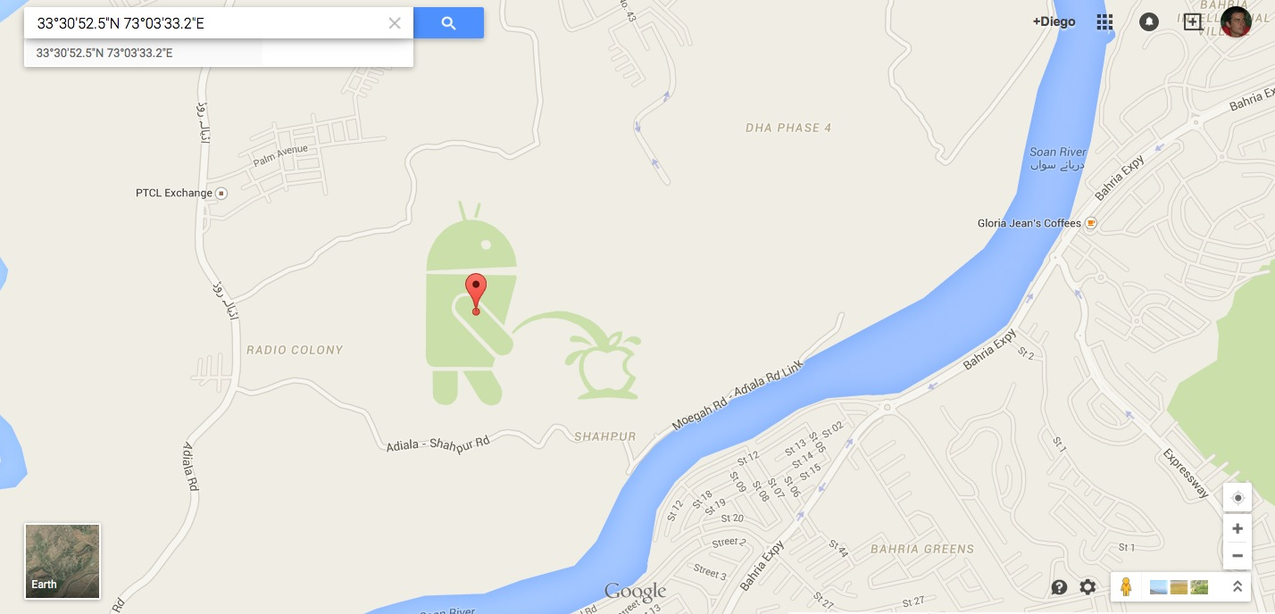 Google Maps Android pipi su Apple