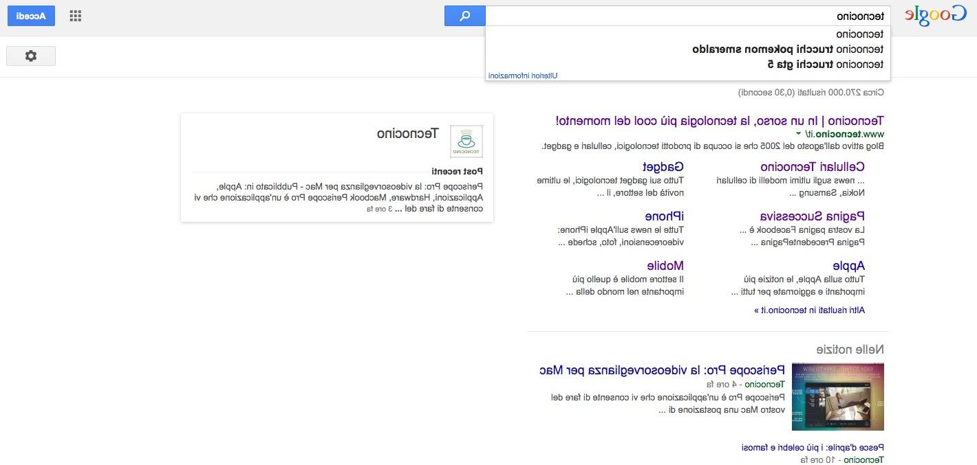 Google al contrario