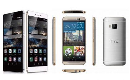 Huawei P8 vs HTC One M9: confronto e paragone