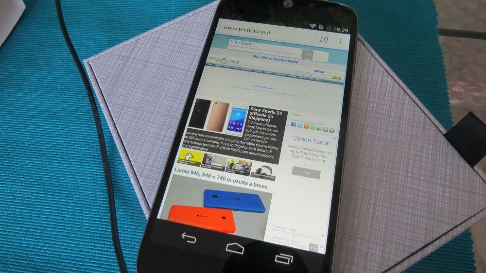 Navigazione sul web Acer Jade S