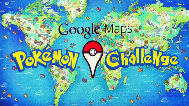 Pokemon Challenge Google Maps
