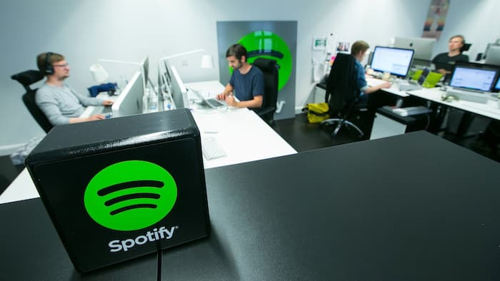 Spotify streaming musicale