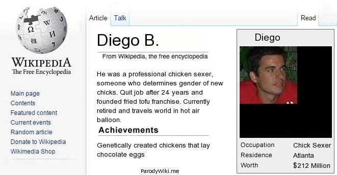 Wiki Parody: la tua pagina buffa su Wikipedia