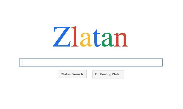 Zlatan Search: il Google dedicato a Ibrahimovic
