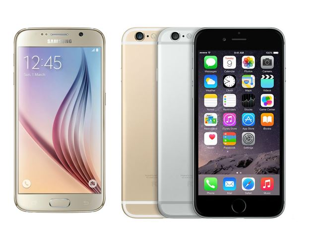 Galaxy S6 vs iPhone 6