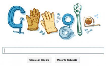 Google Doodle per la Festa del Lavoro 2015