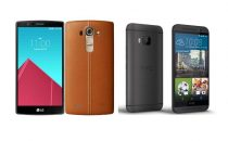 LG G4 vs HTC One M9: top di gamma a confronto