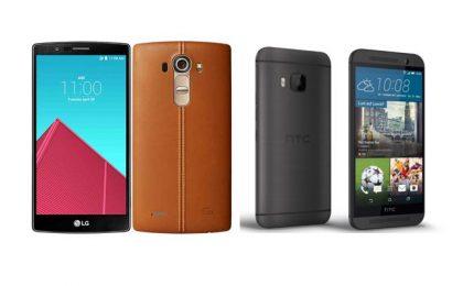 LG G4 vs HTC One M9: top di gamma a confronto