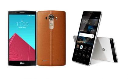 LG G4 vs Huawei P8: confronto tra scheda tecnica e prezzo