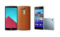 LG G4 vs Sony Xperia Z4: qual è il migliore?