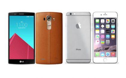 LG G4 vs iPhone 6 Plus: qual è il migliore?