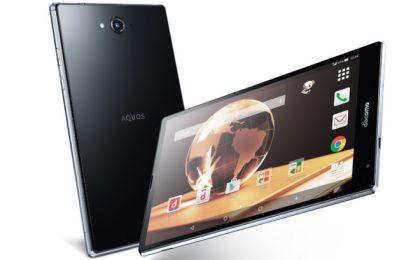 Il tablet Sharp con Android Lollipop e octa-core