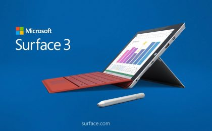 Microsoft Surface 3 in uscita: scheda tecnica e prezzo