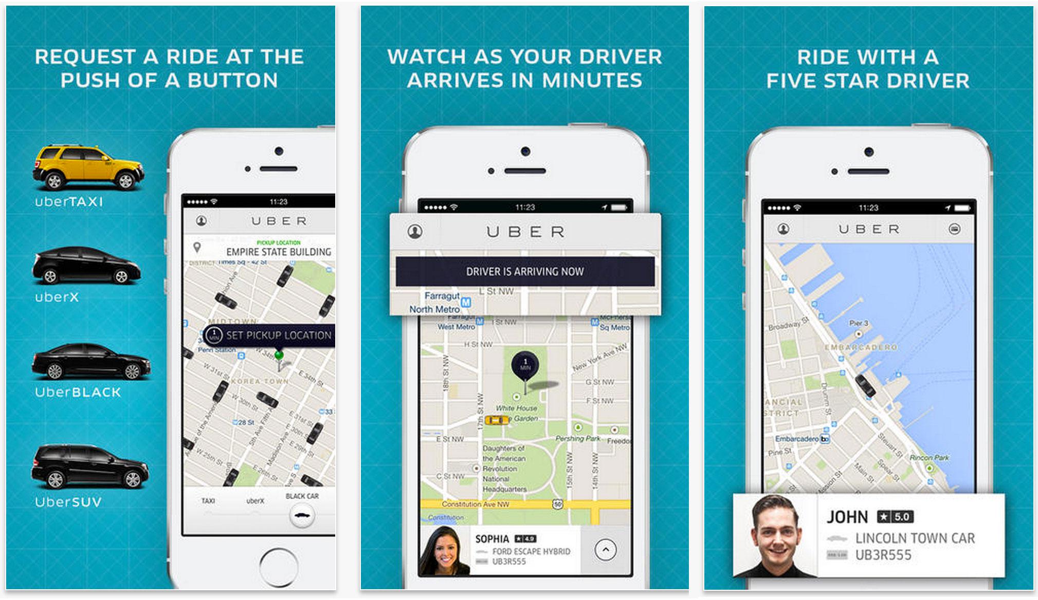 Uber funzionamento