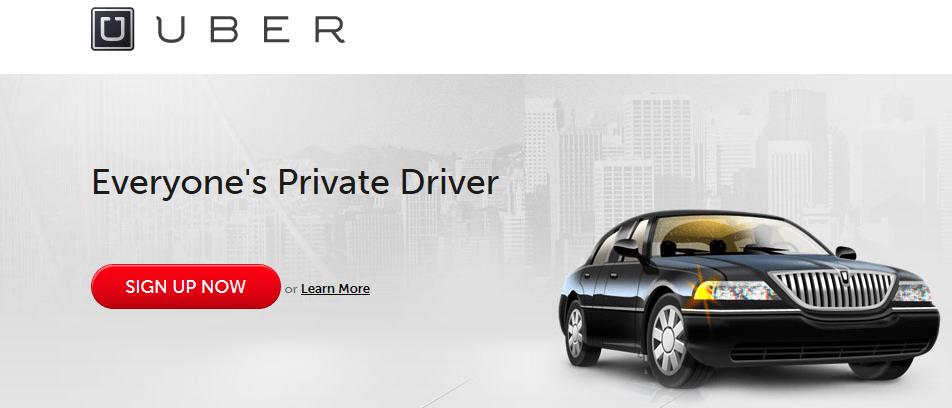 Uber registrazione