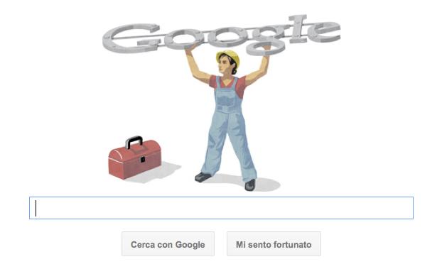 google doodle festa dei lavoratori