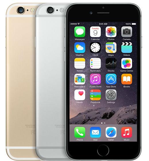 iPhone 6 fotocamera