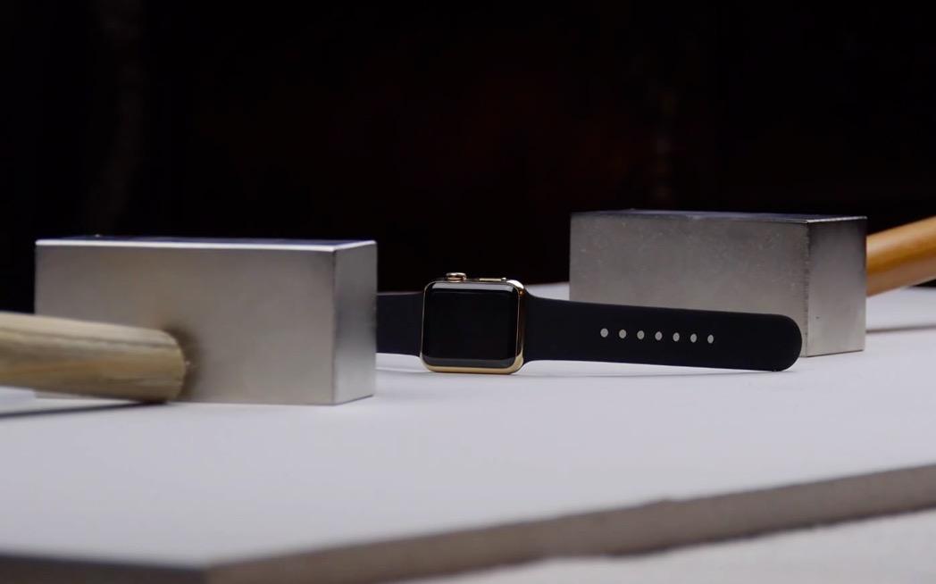 Apple Watch Edition distrutto tra due magneti al neodimio