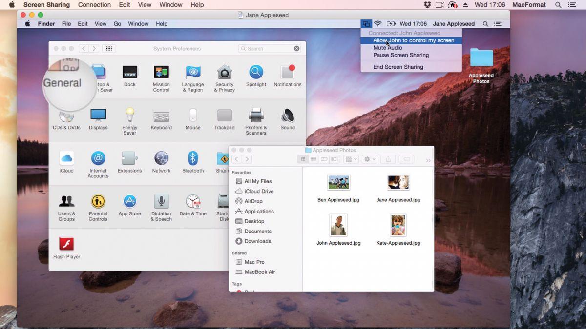 Condivisione Schermo Mac OS X