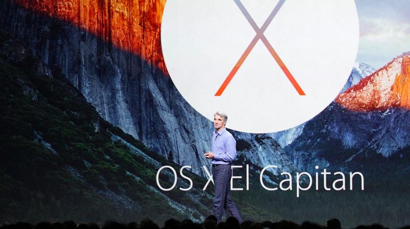 OS X El Capitan alla WWDC 2015