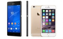 Sony Xperia Z3+ vs Apple iPhone 6: confronto e paragone