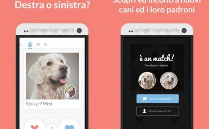 Tindog, la versione di Tinder per chi ha un cane