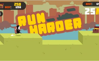 Try Harder, endless runner gratuito per iPhone e iPad