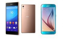 Sony Xperia Z3+ vs Samsung Galaxy S6: il confronto