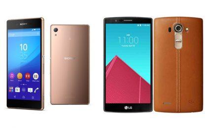 Sony Xperia Z3+ vs LG G4: quale top di gamma scegliere?