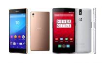 Sony Xperia Z3+ vs OnePlus One: confronto e pargone