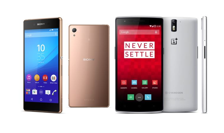 Xperia Z3+ vs OnePlus One