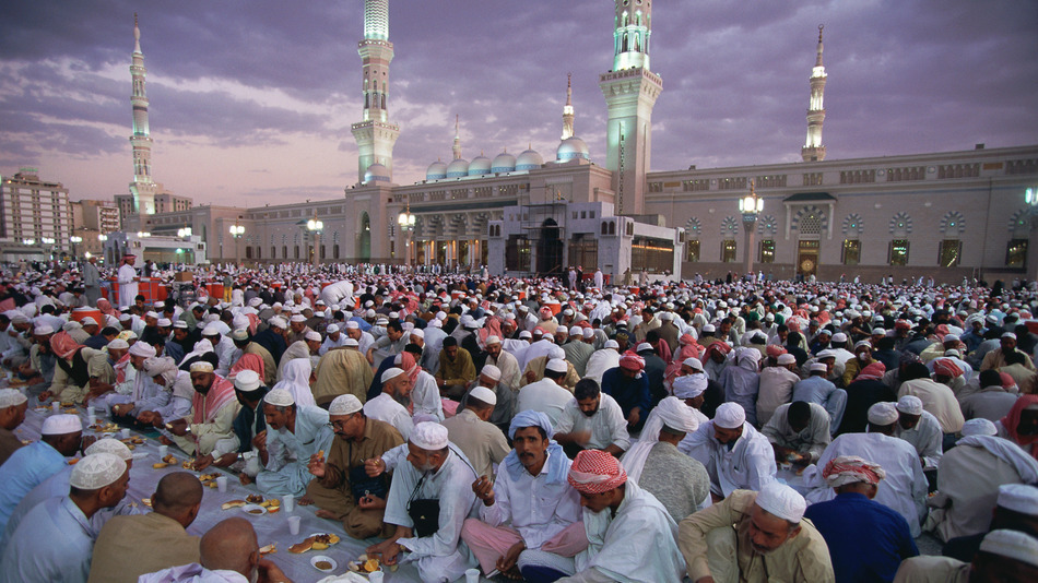 Ramadan at the Mosque of the Prophet