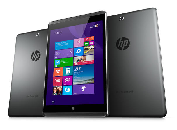 HP Pro Tablet 608: il primo tablet con Windows 10