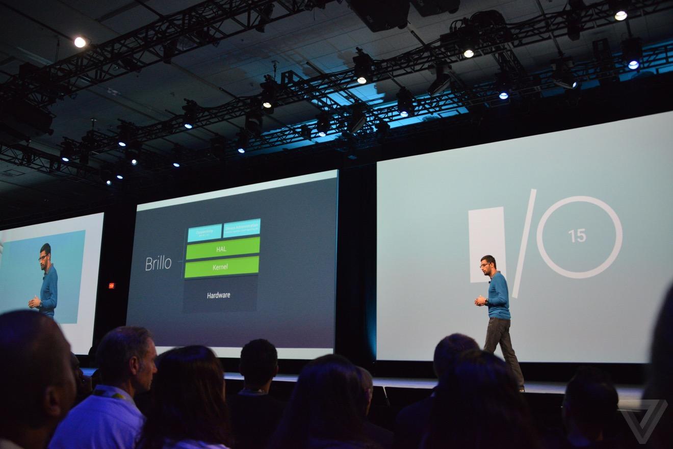 Project Brillo: l'Android dedicato agli oggetti connessi