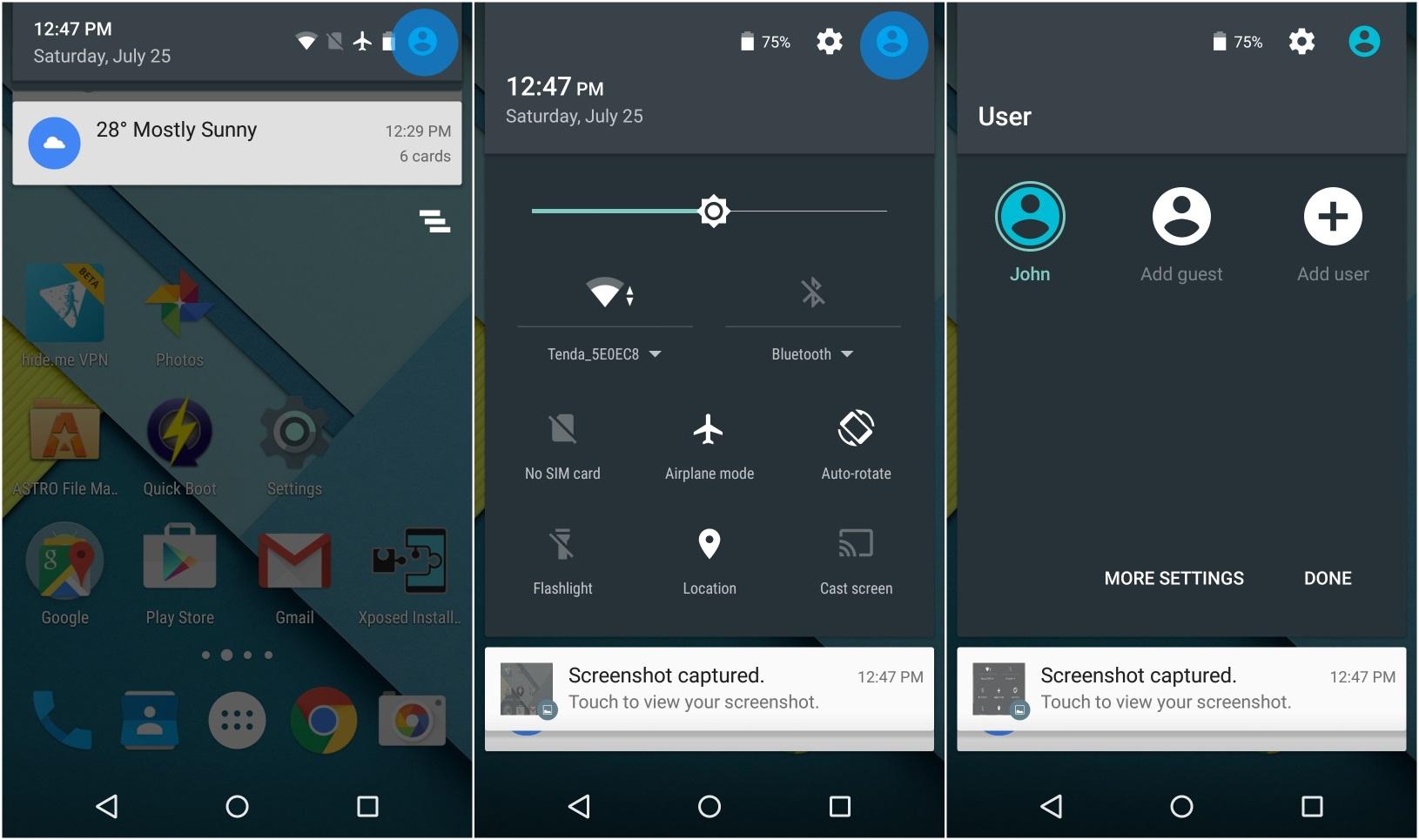 Cambiare foto profilo Android