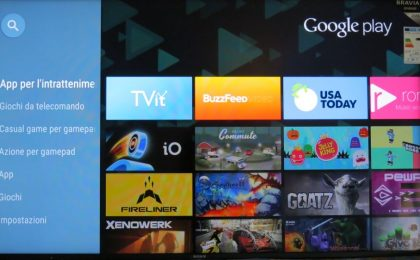 Sony 65W85C: il test del TV LED 3D con Android