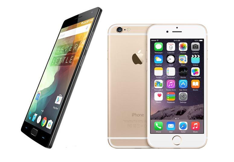 OnePlus 2 vs iPhone 6