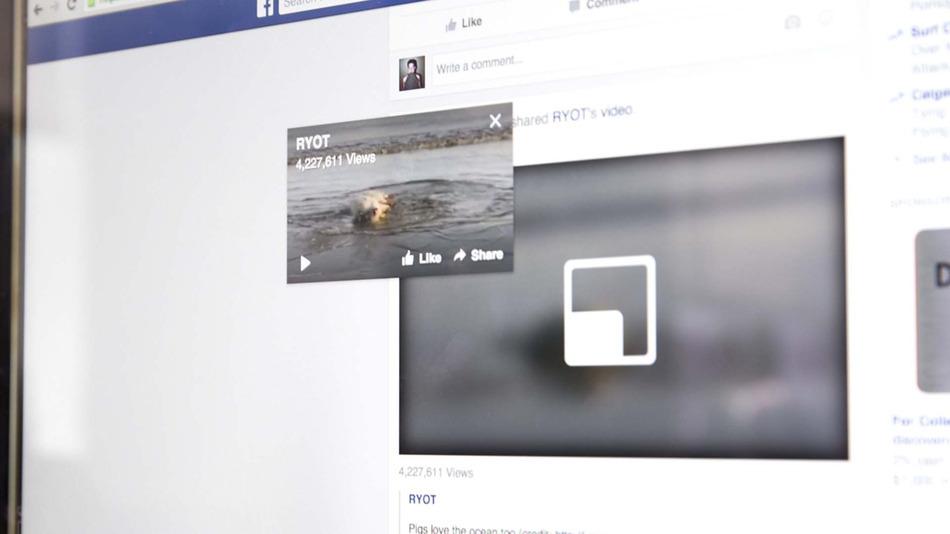 """Facebook e i video """"volanti"""" nella sezione Notizie"""