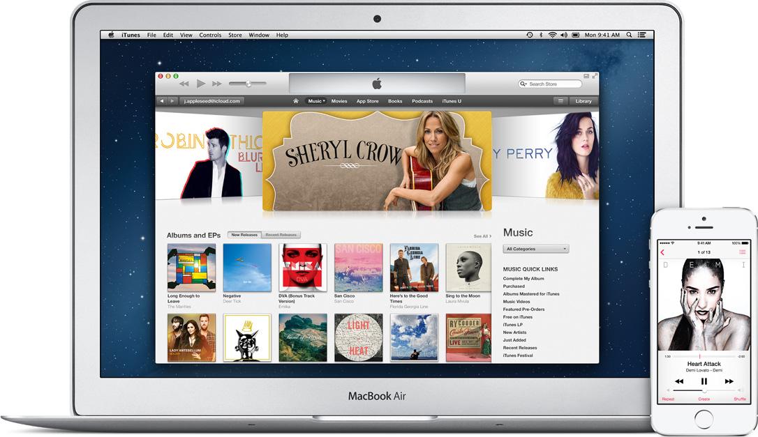 iTunes Apple musica