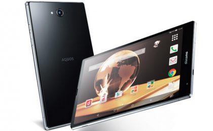 Sharp Aquos Pad SH-05G: il secondo tablet con Snapdragon 810