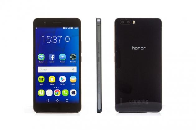 Honor 6 Plus nero