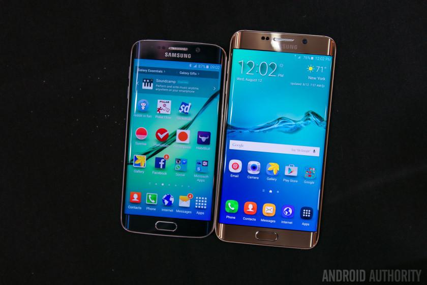 Samsung Galaxy S6 Edge Plus vs Samsung Galaxy S6 Edge