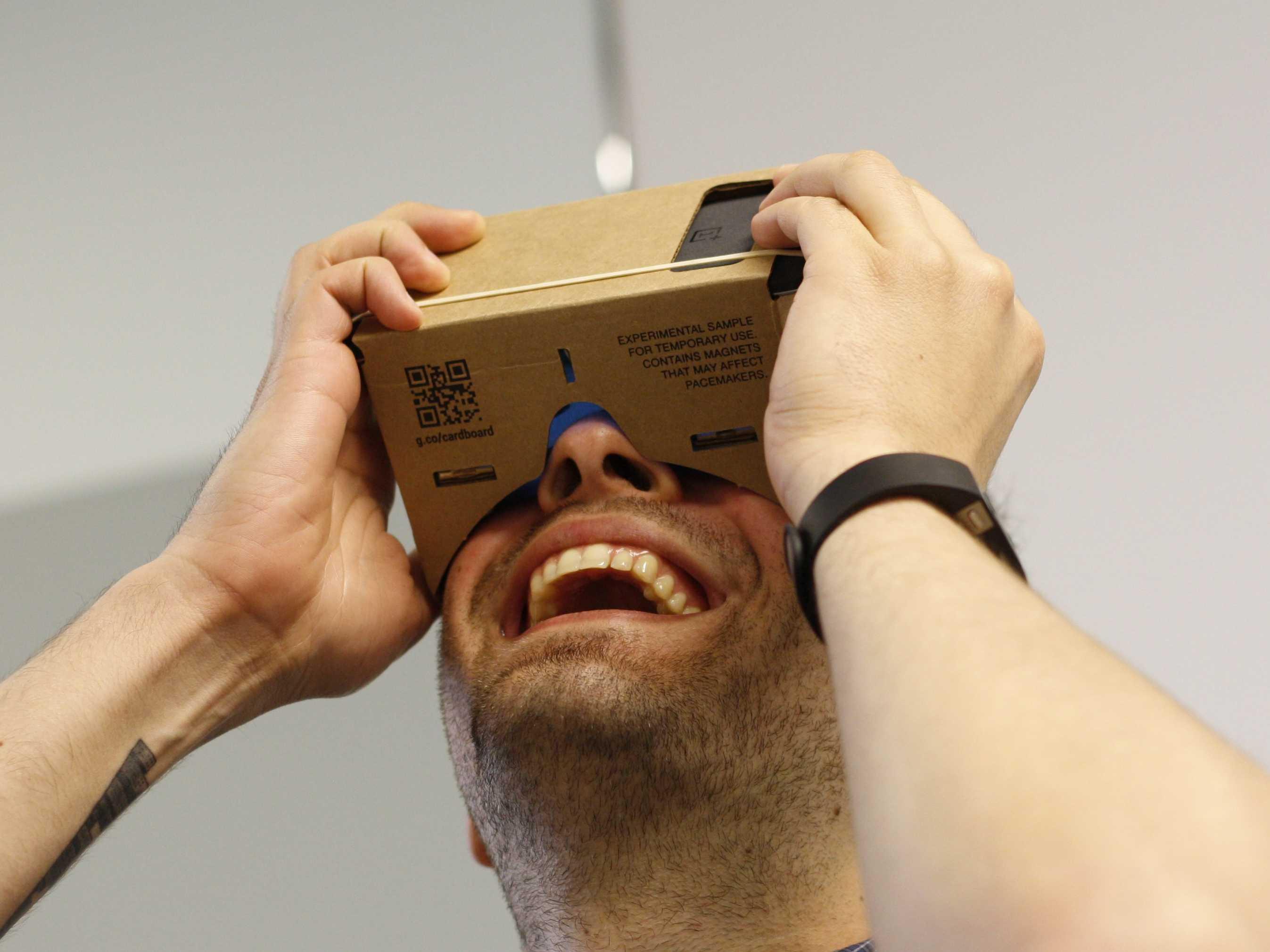 Realtà virtuale su YouTube vicina al boom