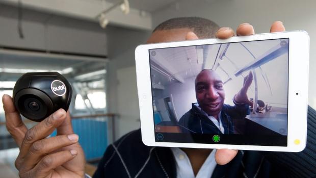 La videocamera a 360 gradi con riprese 3D, Bulbcam